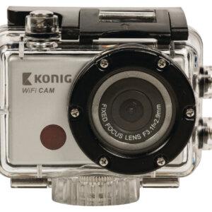 Full HD -action-kamera, 1080p, vedenpitävä kotelo, WiFi