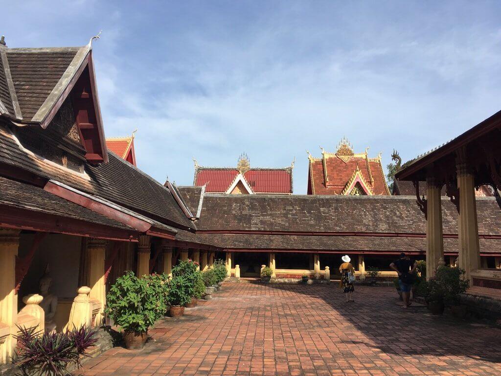 Buddhalainen Sisaket-temppeli